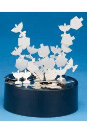 Chanukah Kinetic Magnetic Sculpture Assorted Shapes