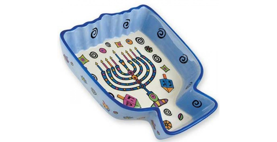 Hanukkah Whimsy Menorah Tidbit Server
