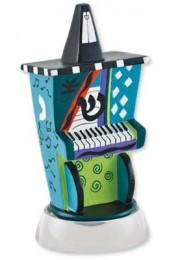 Jessica Sporn Designed Piano Dreidel With Stand