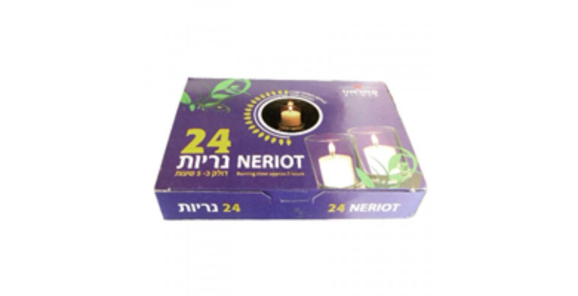 24 Neriot Candles