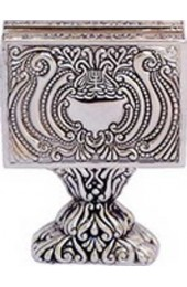 Silver Plated Stand For Matches