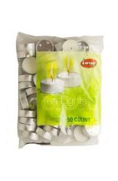 Lerner Tea Lights - 50 Candles Pak