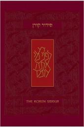 Koren Sacks Siddur, Hebrew/English, Sepharad Prayerbook