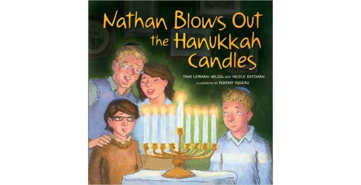 Nathan Blows Out the Chanukah Candles
