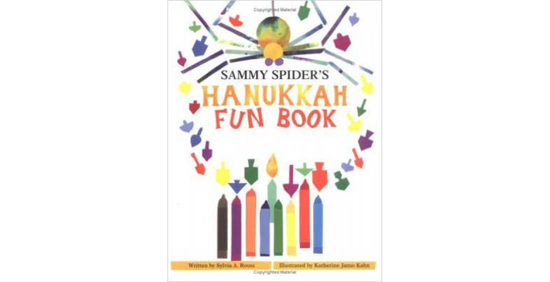 Sammy Spider's Hanukkah Fun Book