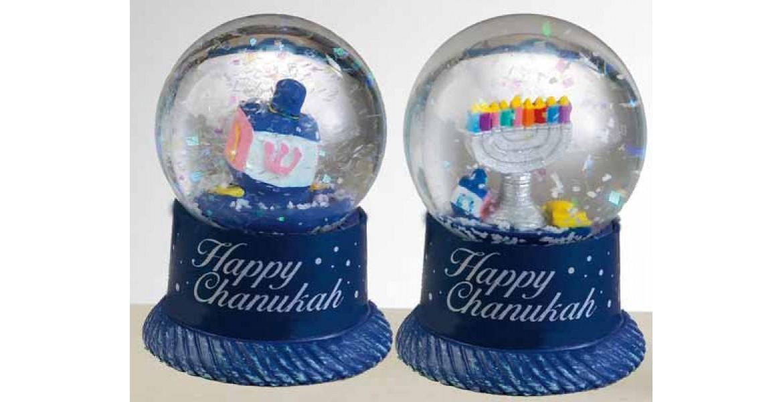 40mm Mini Chanukah Water Globe