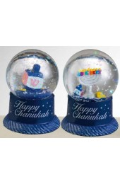 40mm Mini Chanukah Water Globe