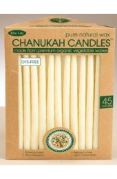 Beeswax Chanukah Candles - Ivory