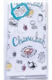 CHANUKAH MUSINGS TEA TOWEL