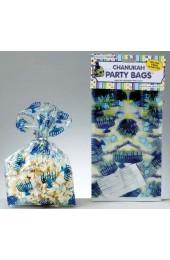 Chanukah Cellophane Party Bags