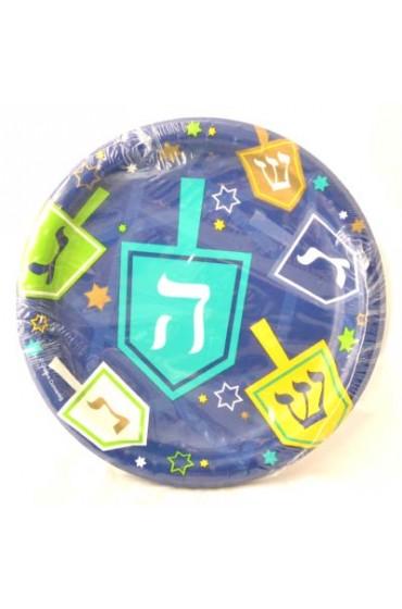 Chanukah Paper Plates