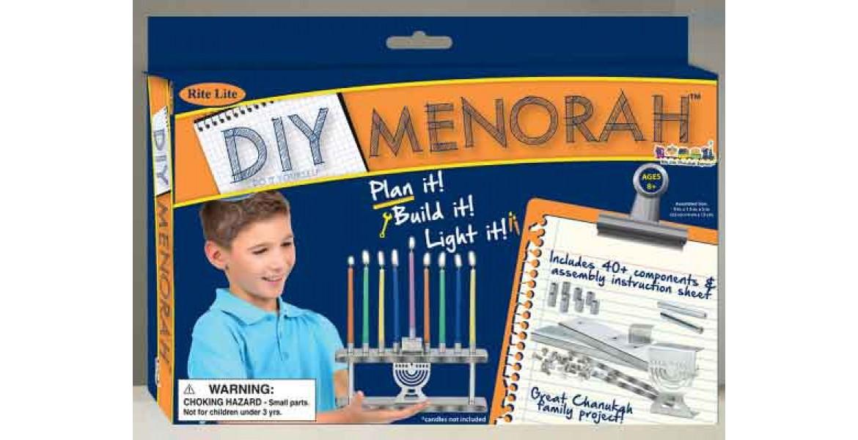D-I-Y MENORAH KIT