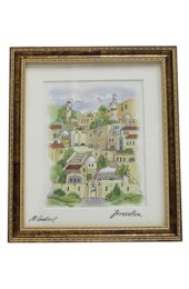 Framed Jerusalem Art