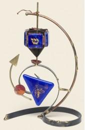 Gary Rosenthal Designed  Bar Mitzvah dreidel