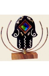 Gary Rosenthal Designed  Larger Lasercut Hamsa Sculpture