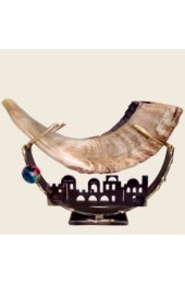 Jerusalem Shofar Holder