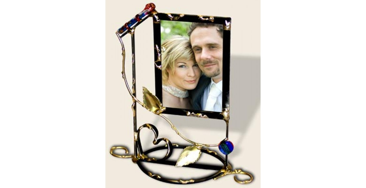 Vining 5x7 wedding photo frame Designed By Gary Rosenthal