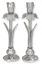 Candlesticks From The Iris Collection