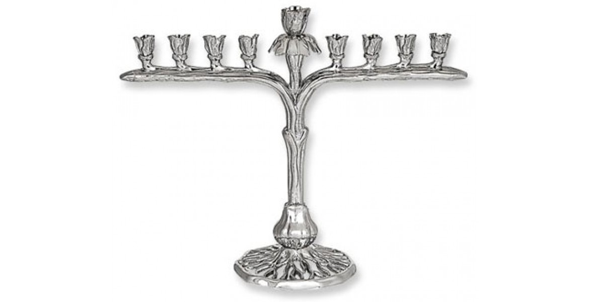 Menorah From The Iris Collection