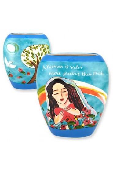 Woman of Valor Vase