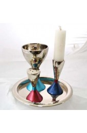 Havdahal Set With Hammered Nickel and Anodized Aluminum FInish