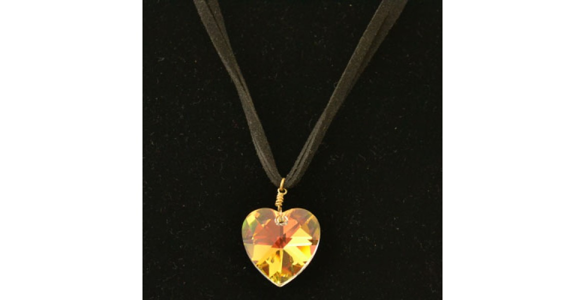 Forever Crystal Heart Necklace