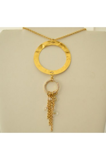 Gold Young Marylin Necklace
