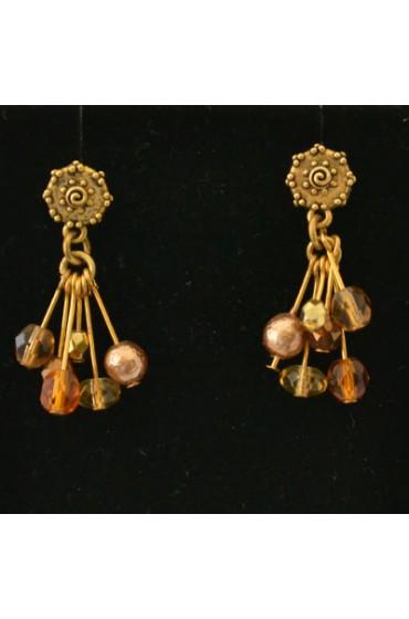 Multi Bead Earlings