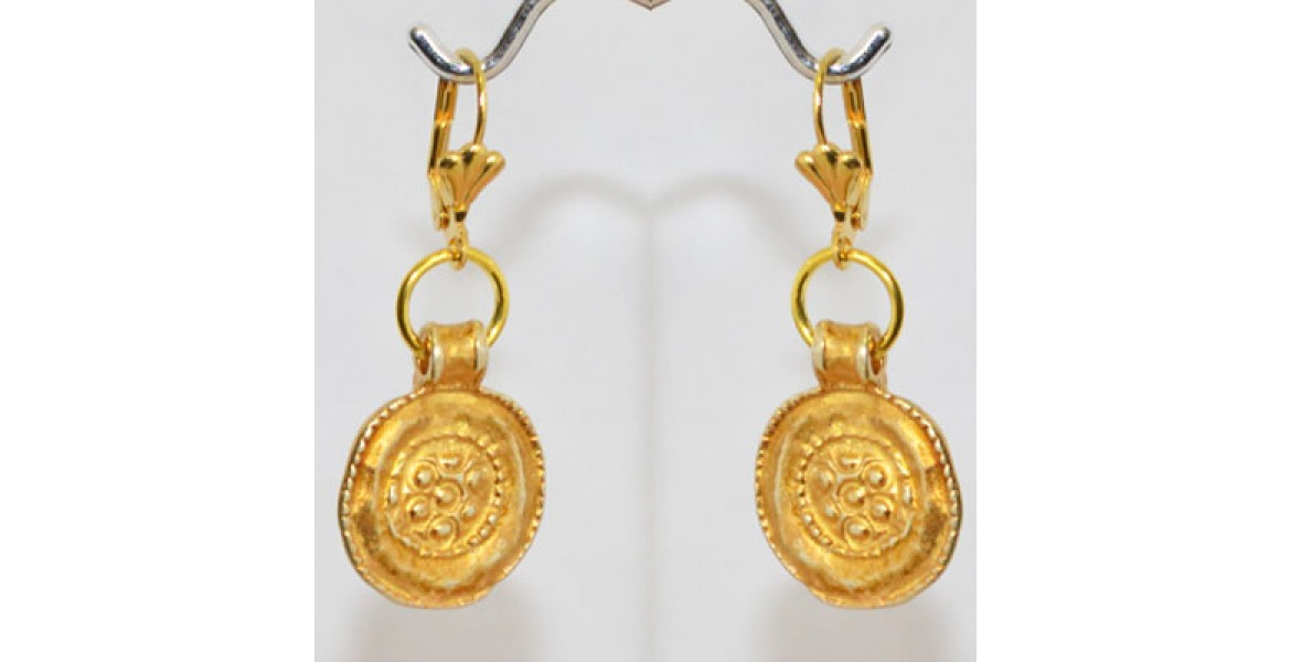 Coined For Life Earrings
