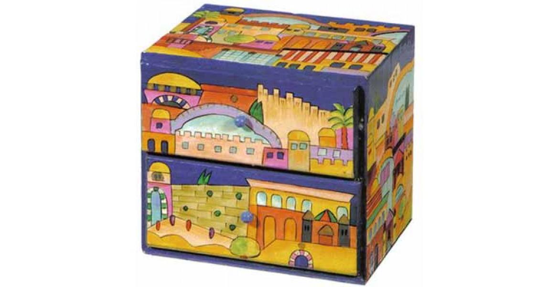Yair Emanuel Large Jewelry Box Jerusalem