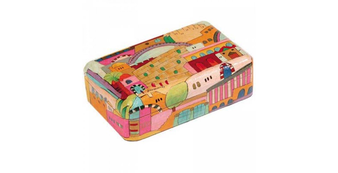 Yair Emanuel Jewelry Box - Jerusalem (medium)