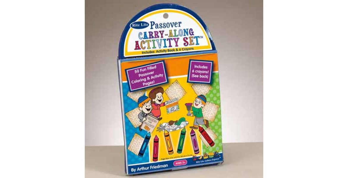 Passover Carry-Along Activity Set