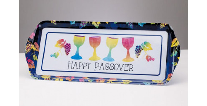 Passover Pastels Rectangle Melamine Tray
