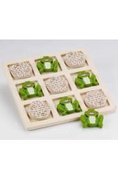 Tic Tac Toad Wood Game