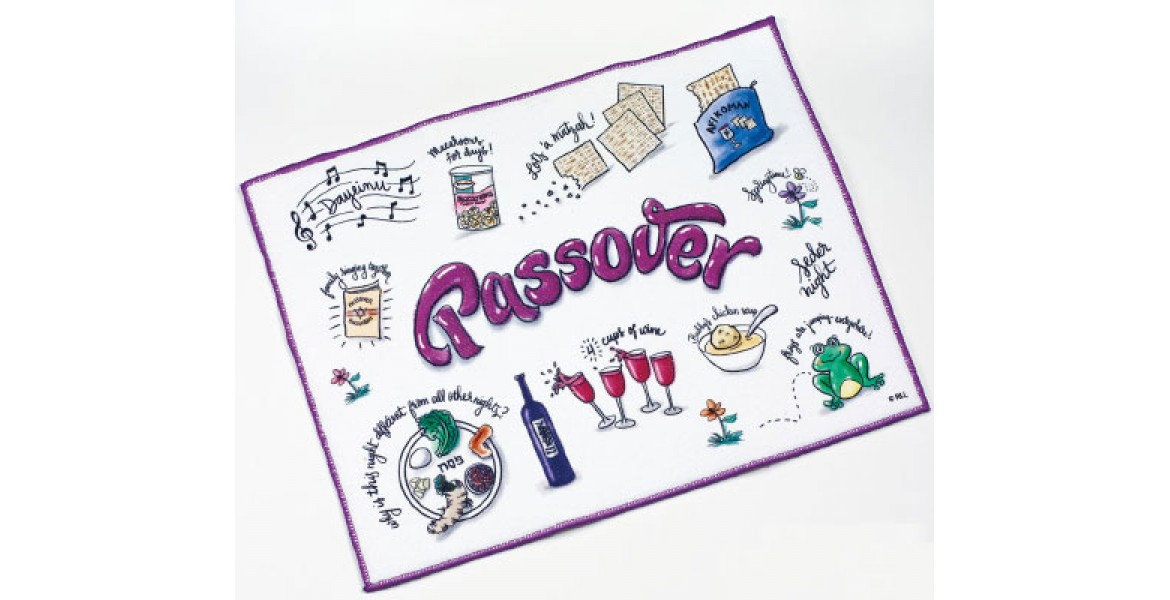 PASSOVER POTPOURRI DRYING MAT