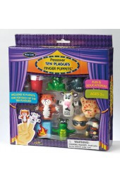 PASSOVER TEN PLAGUE FINGER PUPPETS