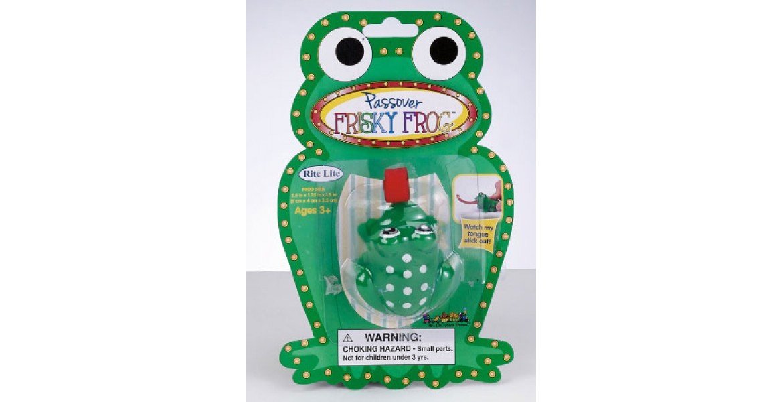 Passover Frisky Frog