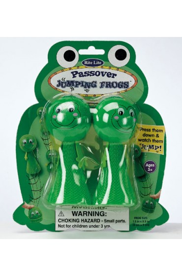 Passover Jumping Frogs