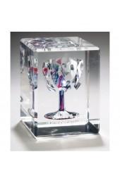 Lucite Rectangular Wedding Glass Cube