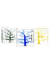 Lucite Tree of Life Wedding Glass