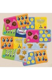 Chanukah Dominoes Game