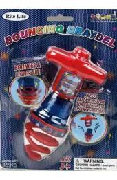 Bouncing Light-up Dreidel