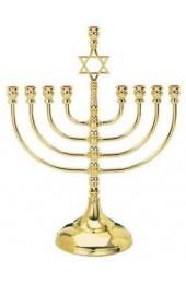 Brass Plated Menorah