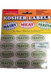 Kosher Labels-Parve Only
