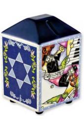 Klezmer Musicians Tzedakah Box