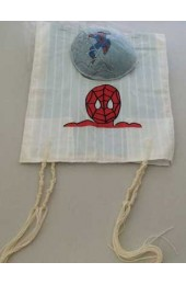 Spiderman Kids Tzit Tzit (Kippah Option Available)