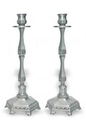 Pewter Candlesticks (pair)