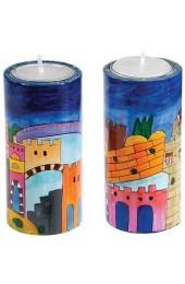Round Big Candlesticks-Pair