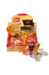 Parve Chanukah Gelt - Box with 24 Sacks of Chocolate Coins