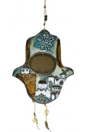 Ceramic Hamsa Home Blessing
